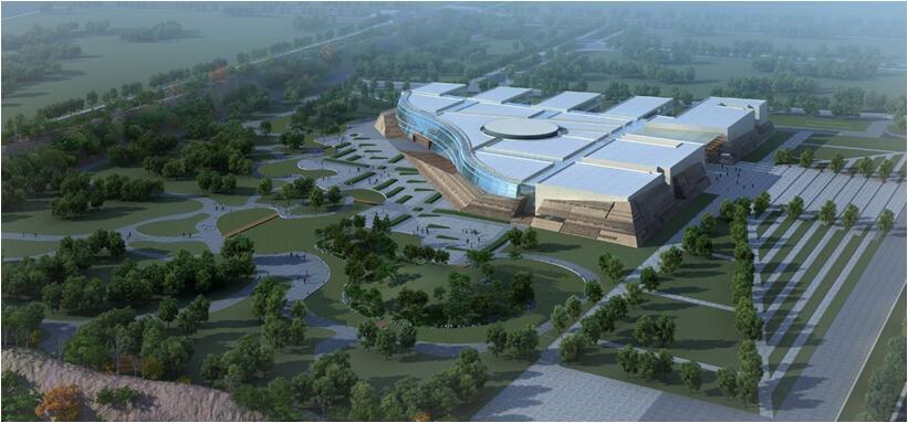 """特色建筑""""青铜色钢琴""""奏响文物乐章――中建二局二公司郑州两院项目建设纪实"""
