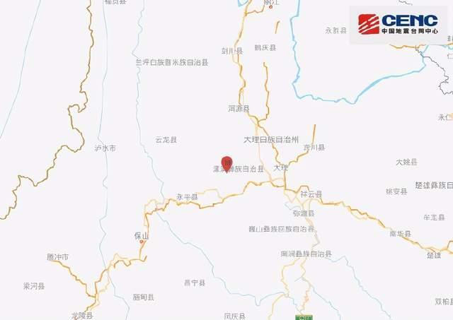 云南大理州漾濞县发生6.4级地震:居民家中顶灯剧烈摇晃